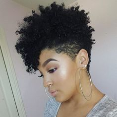 This tapered cut is everything! #bunlife #voiceofhair #bhb #bighairbetty…