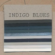 The best thing about indigo is that it acts as a neutral color and goes well with everything. That may be partly cultural from everyone wearing jeans with shirts in every color. Also due to the effect of jeans it is considered a casual and young palette.