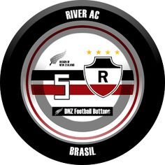 DNZ Football Buttons: River AC                                                                                                                                                                                 Mais
