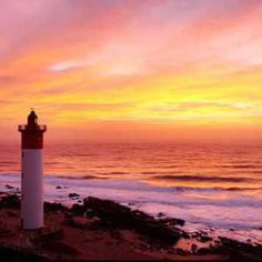 Durban lighthouse Umhlanga Rocks