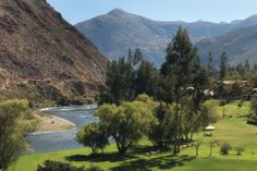 Set on the banks of the Urubamba River, every step provides a new, breathtaking vista. #HotelRioSagrado, #SacredValley.