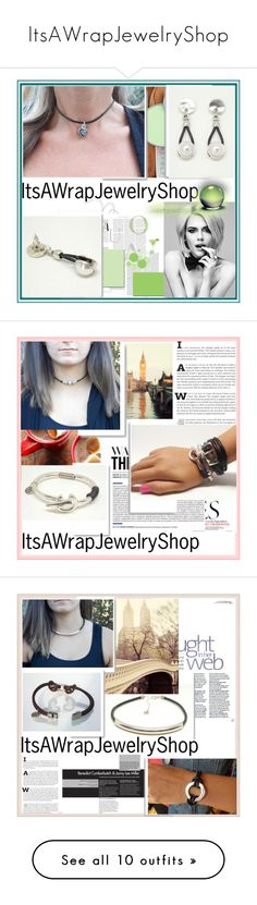 """""""ItsAWrapJewelryShop"""" by damira-dlxv ❤ liked on Polyvore featuring Uno de 50, Whiteley and Celestine"""