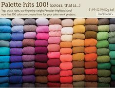 yarn by color