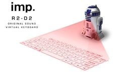 R2-D2 Original Sound Virtual Keyboard
