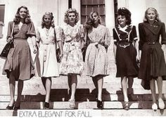40's fashion, so sweet