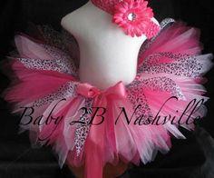 Toddler Hot Pink Cheetah Portrait Dance Tutu by Baby2BNashville, $34.00