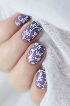 Floral Gradient from Marine Loves Polish