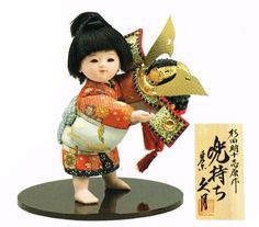 kimekomi samurai doll - Google Search