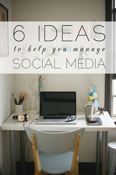 For bloggers: 6 ideas to help you manage your blog's social media