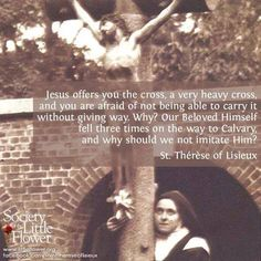St. Therese of Lisieux - Beautiful!