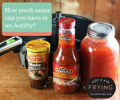 Sauce dishes in an Actifry™ - what does Actifry really say? Best Air Fryer Review, Air Fryer Deals, Actifry Recipes, Mexican Salsa, Best Air Fryers, Air Frying, Air Fryer Recipes, Mole, Easy Meals