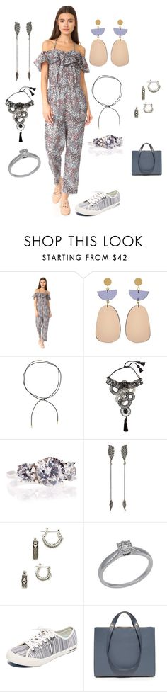 """be original"" by emmamegan-5678 ❤ liked on Polyvore featuring Rebecca Taylor, Isabel Marant, Elizabeth and James, NIGHTMARKET, Fantasia by DeSerio, Federica Tosi, House of Harlow 1960, Bliss by Damiani, SeaVees and Haerfest"