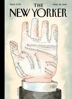 """The New Yorker - Monday, March 28, 2016 - Issue # 4632 - Vol. 92 - N° 7 - Cover """"The Big Short"""" by Barry Blitt"""
