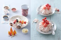 A collection of really pretty food from decor8 columnist, Emilie Griottes