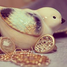 A little birdie and irresistible jewels
