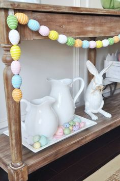 Honey We're Home: Easter & Spring Decor in the Dining Room
