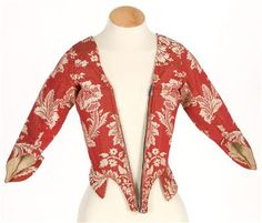Imatex - 18th century jacket of lampas silk.  date unknown (not listed)