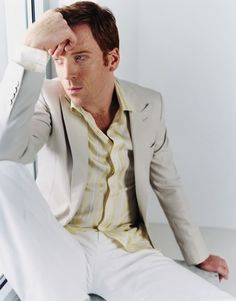 DAMIAN LEWIS-- a good Ginger is worth a thousand words...