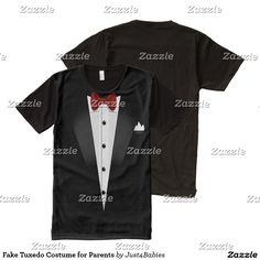 f2293217b Fake Tuxedo Costume for Parents Elf Costume, T Shirt Costumes, Sugar Skull  Design,