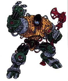 Blast Attak - MOTU Redesign (2003) by ~CJEdwardsArt on deviantART