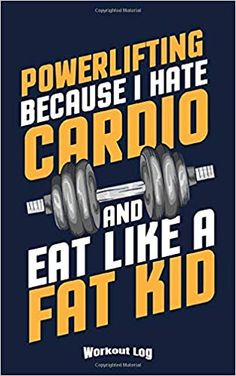 My Powerlifting Workout Log: Funny Training Aid Gift Idea for Bodybuilding and Powerlifting Fans, Gym, Workout, Training and Fitness Lovers and . Workout Log, Workout Memes, Funny Workout, Bodybuilder, Exercise For Kids, Trainer, Powerlifting Workout, Notebooks, Fitness