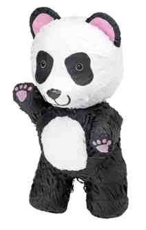 "This panda pinata is perfect for any party. 8"" x 9 1/2"" x 17"" This Pinata is the traditional style, so get out your Pinata bat and blindfold and get to the sweets (sold separately) Please Note: Pinata"