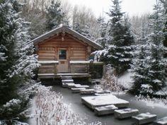 Russische Banja sauna bij Wellnessresort Elysium, Bleiswijk, the netherlands