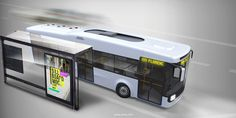 ELECTRIC_BATTERY_bus on Behance