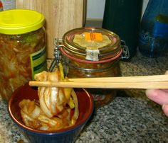 Kimči -podrobný recept Kimchi, Pickles, Cucumber, Meat, Chicken, Food, Essen, Meals, Pickle