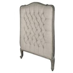 THE WELL APPOINTED HOUSE - Luxuries for the Home - THE WELL APPOINTED HOME Wood and Upholstered Headboard-Available in Twin or Queen Size