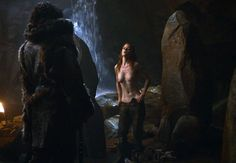 GQ.com: The Creative Nakedness of Game of ThronesSpring 2011 - PresentPerhaps no other show has done more than GoT to pioneer the imaginative wearing of less. Prime example: Cave-Bath Steamed Nipples (above). This is why nubile wildings exist..