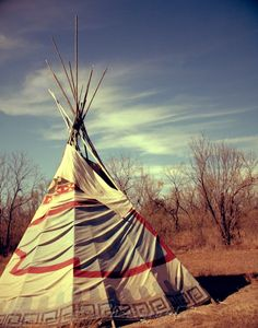 TeePee in Tejas by Rissa Roo Photography.  Only part way up.  Still needs flap poles or no fire without smoke.