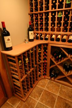 Wine racks from WineRacks.com. We offer free custom design so drop us a line!