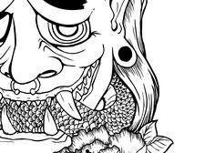 Oni by NightOwlIllustration
