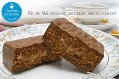 Pão de Mel na Cozinha do Quintal Cookies, Food Art, Banana Bread, Recipies, Brunch, Food And Drink, Sweets, Homemade, Desserts