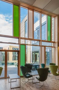 Keynsham Town Hall with Krone Composite windows by venturi UK
