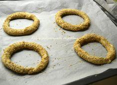 Κουλούρια σαν Θεσσαλονίκης - cretangastronomy.gr Onion Rings, Pie, Ethnic Recipes, Desserts, Food, Torte, Tailgate Desserts, Cake, Deserts