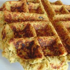 Waffled Falafel Allrecipes.com #MyAllrecipes #AllrecipesAllstars #AllrecipesFaceless