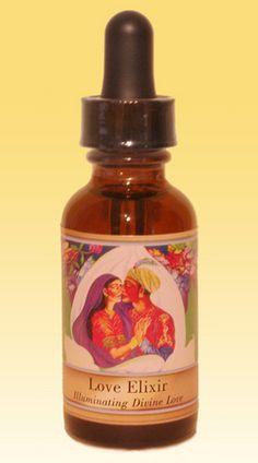 Love Elixir Flower Essence Blend   The Power of Flowers Healing Essences   Love Elixir Flower Remedy Blend