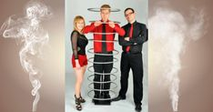 """Slightly Unusual have been described as """"The UK's answer to Penn and Teller"""". Comedy Illusionists with a three person illusion act based in the UK. Penn And Teller, Corporate Entertainment, Laugh Out Loud, About Uk, Your Photos, Illusions, Britain, Acting, Comedy"""