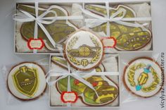 """23"" прянички-медальоны. Handmade."