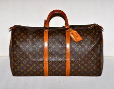 Make an Offer LOUIS VUITTON Keepall 55 Duffel Bag by louise49, $560.00