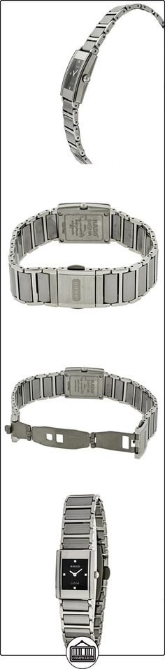Rado - Reloj de pulsera mujer, cerámica, color plateado  ✿ Relojes para mujer - (Lujo) ✿