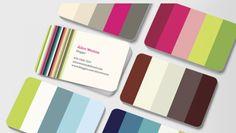 Cartões de Visita | Cores! http://www.colourlovers.com/business/blog/2012/04/03/moo-colourlovers-business-card-design-contest