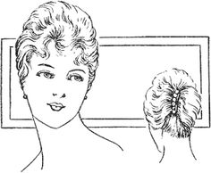 A New Coiffure from 1917 (with instructions)