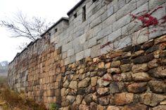 Seoul City Wall at Muak-Dong, Seoul, Korea