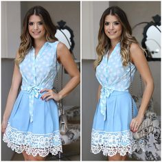 Swans Style is the top online fashion store for women. Shop sexy club dresses, jeans, shoes, bodysuits, skirts and more. Denim Fashion, Hijab Fashion, Fashion Dresses, Womens Fashion, Hourglass Outfits, Demin Skirt, Cool Outfits, Casual Outfits, Estilo Jeans