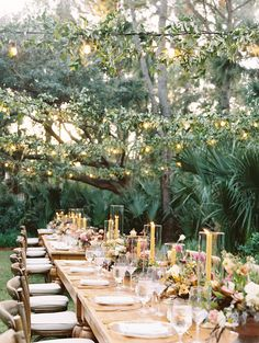 Bring the magic with our dazzling Cafe lights! Whether they stand alone or are wrapped with greenery, they emit a warm glow that will brighten any wedding reception! Check out our website for more lighting options! #Charleston #WeddingReceptionIdeas #Lights #ClassicWedding #WeddingGreenery #OutdoorLighting Romantic Wedding Decor, Outdoor Wedding Reception, Unique Weddings, Outdoor Lighting, Cafe Lighting, Bistro Lights, Event Services, Fairy Lights, Event Decor