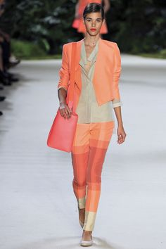 Akris | Spring 2013 Ready-to-Wear Collection | Pauline Hoarau Modeling | Style.com