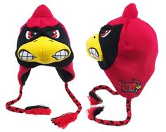 This cozy knit ZooZatZ hat (lined with soft fleece) is the perfect way to top off your Redbird look. Order online from Von Maur: http://www.vonmaur.com/Product.aspx?ID=178413&pg=1